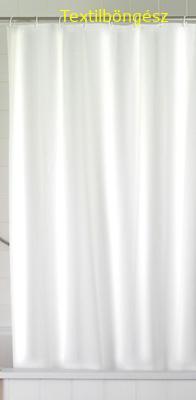 Zuhanyfüggöny fehér pvc 180x200cm/Cikksz:063019