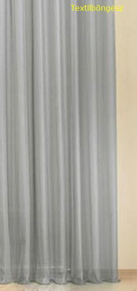 Fehér voila kész függöny fekete nyírt mintával A.C.CS./130x200cm/Cikksz:01122185