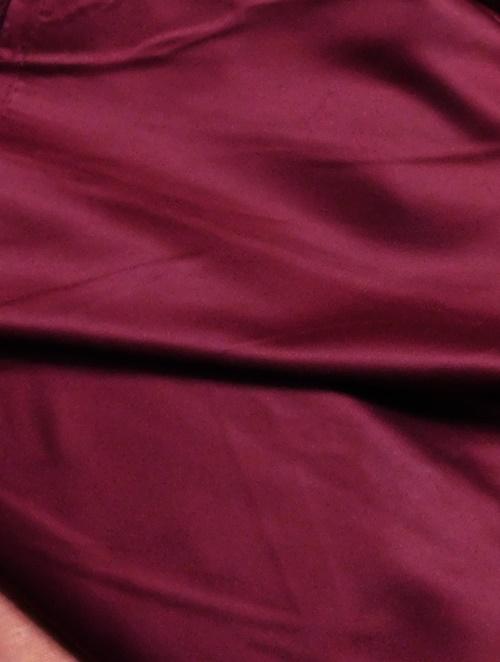 Szatén bordó maradék dekor sötétítő függöny 150x150cm/Cikksz:1230754
