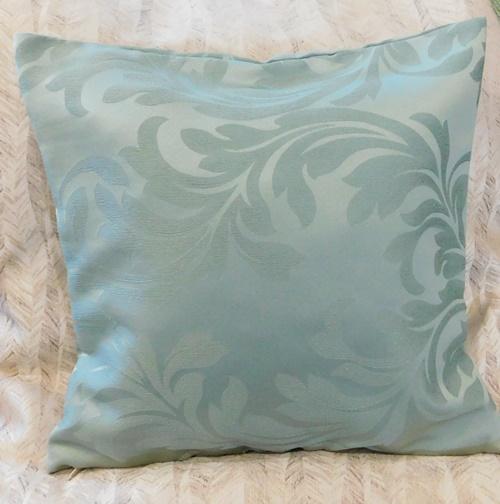Egyszínű vászon párna sötétzöld/Cikksz:0410027