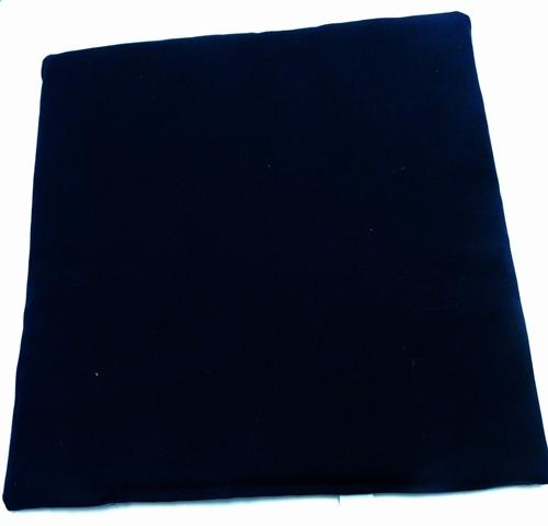 Egyszínű vászon ülőpárna fekete/Cikksz:0324061