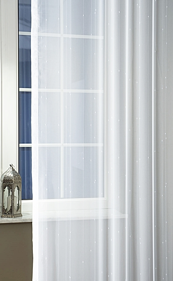 Fehér jaquard kész függöny 4271/180x290cm/Cikksz:01122365
