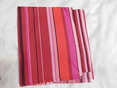 Mályva rózsaszín csíkos karton maradék 32x140cm/Cikksz:1230381