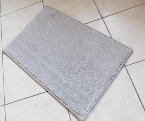 Akciós komfortos lábtörlő kis szőnyeg középszürke kb:35x50cm/Cikksz:01120106