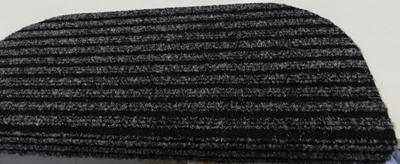 Lépcsőszőnyeg ipari filc bordázott szürke 6029/Cikksz:0532229