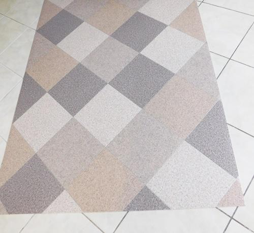 Színátmenetes shaggy szőnyeg SZGAX970 drapp barna kb:80X100cm/Cikksz:05200803
