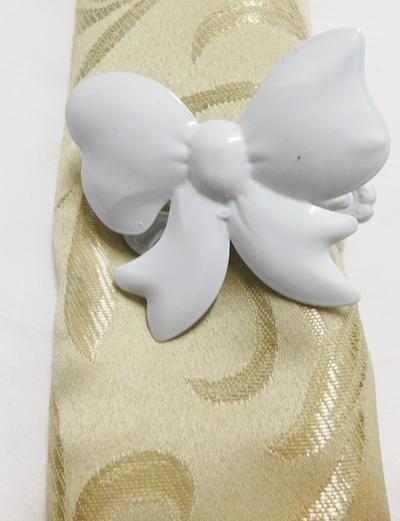 Függöny elkötő csipesz fehér csokor/Cikksz:014067