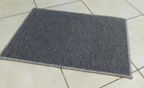 Akciós buklé lábtörlő kis szőnyeg sötétszürke kb:35x50cm