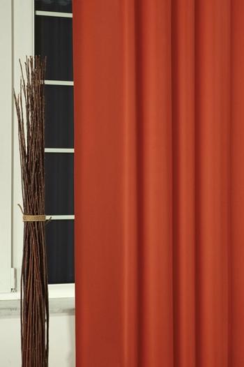 Kész blackout sötétítő függöny terrakotta/250PR23/Cikksz:01210419