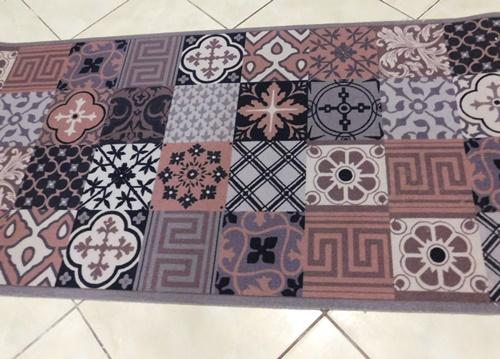 Kockás szegett szőnyegTR, 452-es szín 60x130cm/Cikksz:0521007