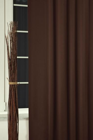 Blackout sötétítő függöny 150-es 008 sötétbarna méterben/Cikksz:01220036