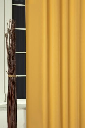 Blackout sötétítő függöny 150-es 017 curry méterben/Cikksz:01220045