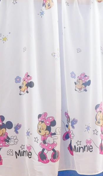 Hercegnők rózsaszín kész voila függöny/Cikksz:0710100