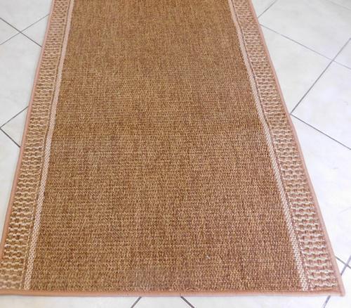 Szizál hatású szőnyeg maradék 78x95cm barna