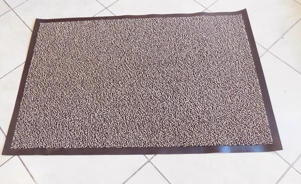 Textilbetétes lábtörlő beige/Cikksz:112096