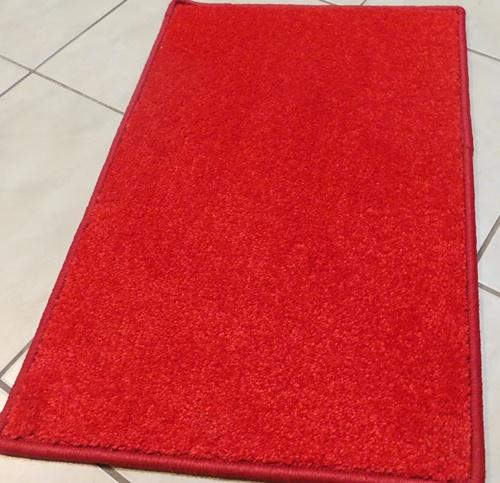 Akciós komfortos lábtörlő kis szőnyeg piros kb:50x80cm