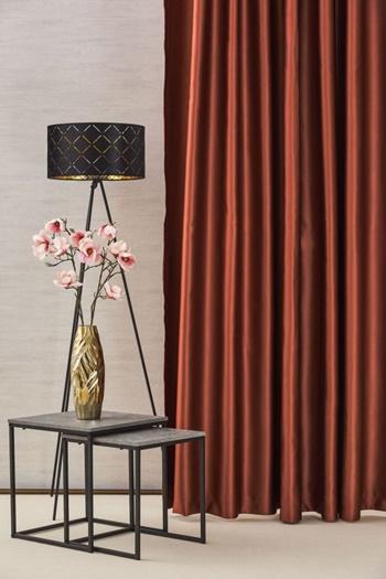 Blackout fényzáró sötétítő függöny üni tégla-mandarin  300-as Cikksz 01220137 - Akciós függöny 88dc99bbe2