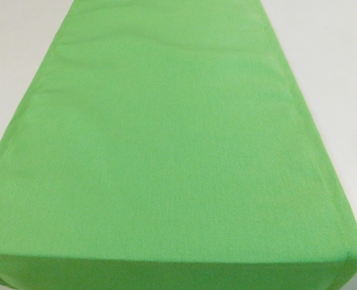 Zöld vászon asztalközép hosszú terítő/018/Cikksz:023142