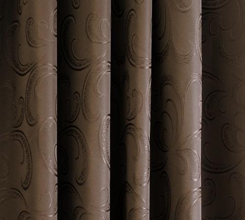 Szürke mintás vászon dekor sötétítő függöny/Cikksz:0121645