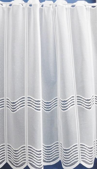 Fehér voila kész függöny pöttyös mintával/Cikksz:01150045
