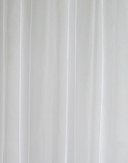 Fehér organza függöny zöld arany nyírt mintával 100x380cm/Cikksz:1240397