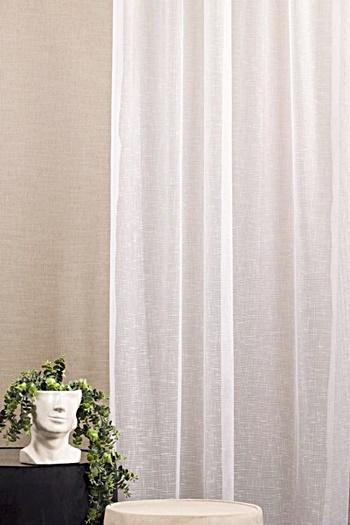 Dreher sable noppos fehér Yvonne kész függöny 270x180cm