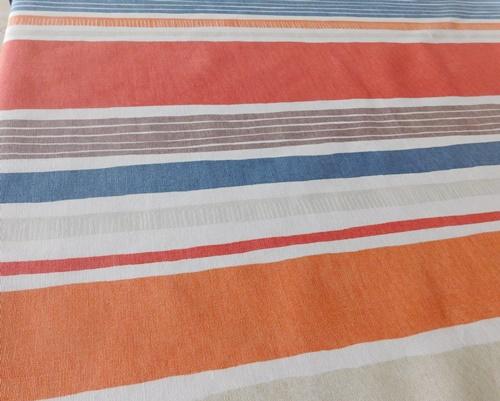 Narancs mintás pamutpolieszter maradék 73x140cm/Cikkszám:1231010