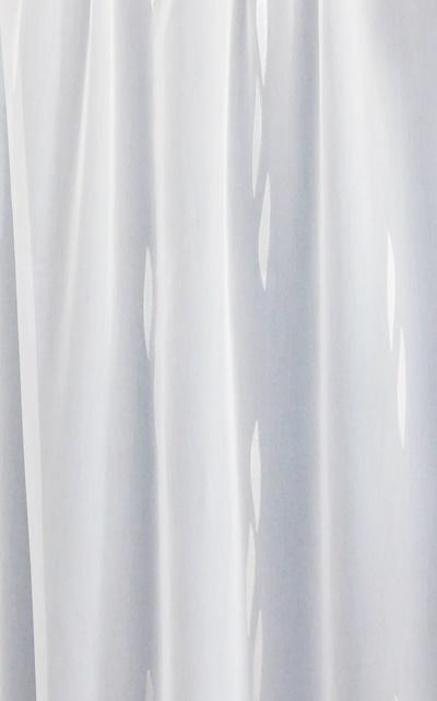 Fehér voila kész függöny fekete nyírt mintával A.C.CS./250x390cm/Cikksz:01130972