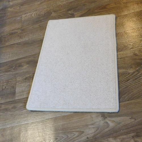 Akciós komfortos lábtörlő kis szőnyeg bézs kb:35x50cm