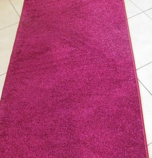 Bordó kockás szegett szőnyegTR 60x300cm/Cikksz:05200782