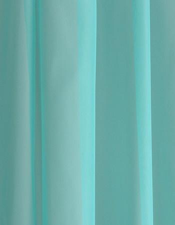 Fehér sable maradék függöny élénk rózsaszín mintával 100x440cm/Cikksz:1240611