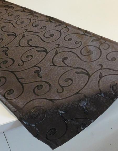 Apró virágos vászon asztalközép, terítő/Cikksz:023075