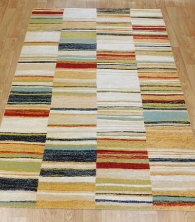 Kész szőnyeg színes csíkos Fortuna 32303/6372/Cikksz:0530285
