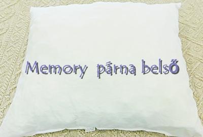 """Memory párnabelső """"S""""/Cikksz:034002"""