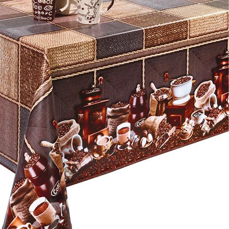 Hortenzia mintás viaszos vászon 98x140cm/Cikksz:0221087
