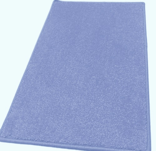 Akciós komfortos lábtörlő kis szőnyeg kék kb:30x50cm