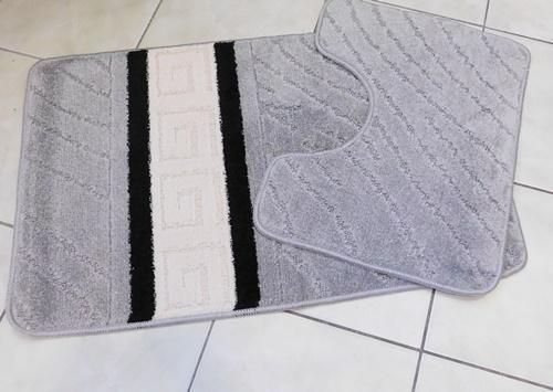 Szürke egyszínű 2-részes fürdőszoba szett/Cikksz:0610150
