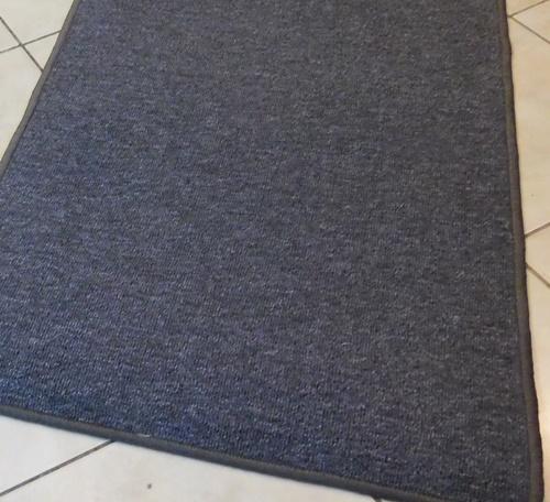 Lépcsőszőnyeg sötétszürke buklé SZG343 belépőszőnyeg kb:80x60cm/Cikksz:0532179