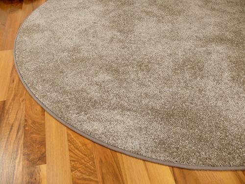 Szegett szőnyeg KSR nyers kör 96cm átmérő/Cikksz:0521035