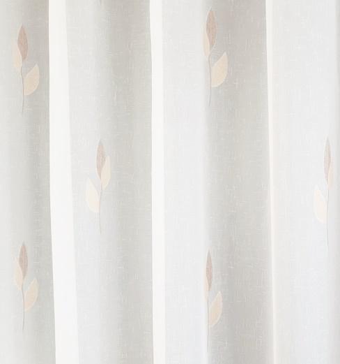 Csíkos voila kész függöny fehér M01./180x150cm/Cikksz:01121822