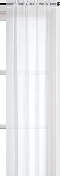 Fehér sable kész vitrage függöny kék organza mintával/Cikksz:01122373