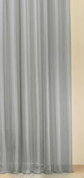 Fehér voila kész függöny fekete nyírt mintával A.C.CS./180x120cm/Cikksz:01120679