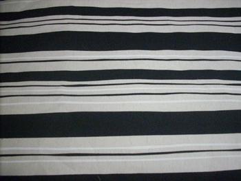 Vászon maradék, drapp fekete csíkos 39x50cm/Cikksz:1230735