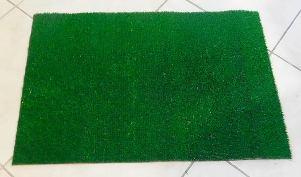 Műfű kültéri szőnyeg lábtörlő 30x50cm/Cikksz:111102