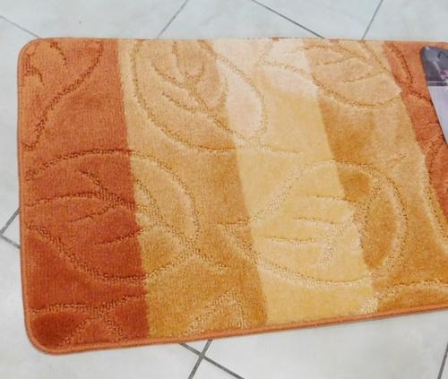 Fürdőszobaszett piros fekete 2 részes/Cikksz:06100650