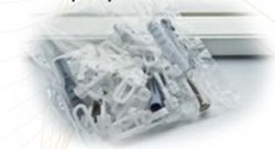 Tartozékcsomag műanyag egysoros karnishoz 120-180cm/Cikksz:0930046