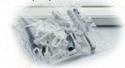 Tartozékcsomag műanyag egysoros karnishoz 210-300cm/Cikksz:0930047