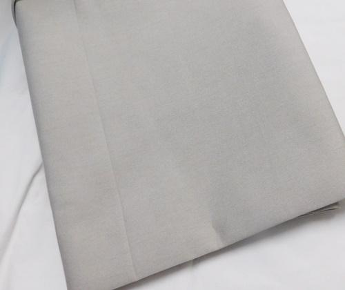 Fehér sable maradék függöny kék organza mintával 80x280cm magas/Cikksz:1240311
