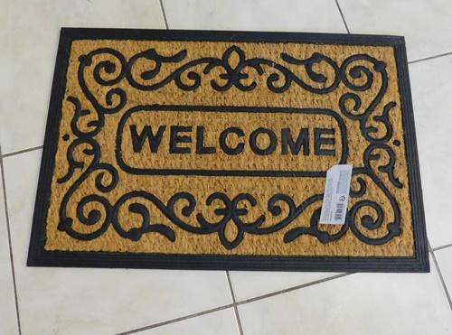 Gumi kókusz lábtörlő metallic 45x75cm/Cikksz:111011