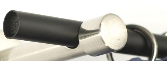 Karnis rúd 16mm-es sima fekete 120cm/Cikksz:0940259